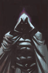 Moon Knight_Digital paint
