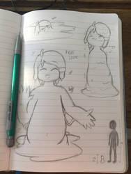 Keanu Sketch Dump by TheAngriestHorse