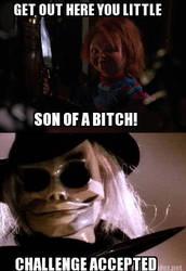 Meme-Chucky vs Puppet Master