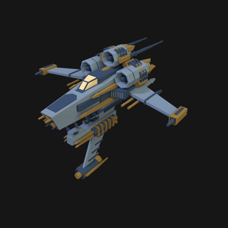 Spaceship-03 by YanWiah
