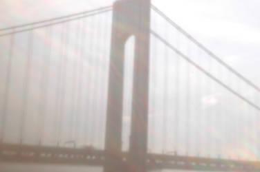 digital pinhole: Verrazano Bridge 2