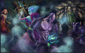 DotA 2, Faceless Void 'n Krobelus /8 by DariaDesign