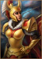 DotA 2,  Tresdin, the Legion Commander by DariaDesign