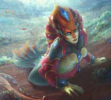 DotA 2, Naga Siren / 3 by DariaDesign
