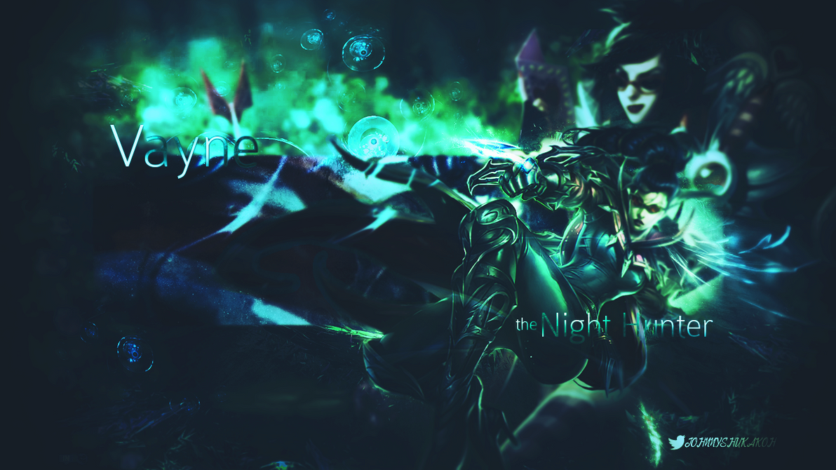 Wallpaper - Vayne | League of Legends by JohnnyShukakOhz ...