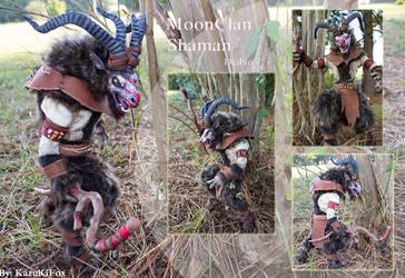 MoonClan Shaman Art Doll by Kazulgfox