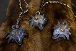 Griffin Medallion by Kazulgfox