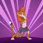 Work it, sparkle tiger!