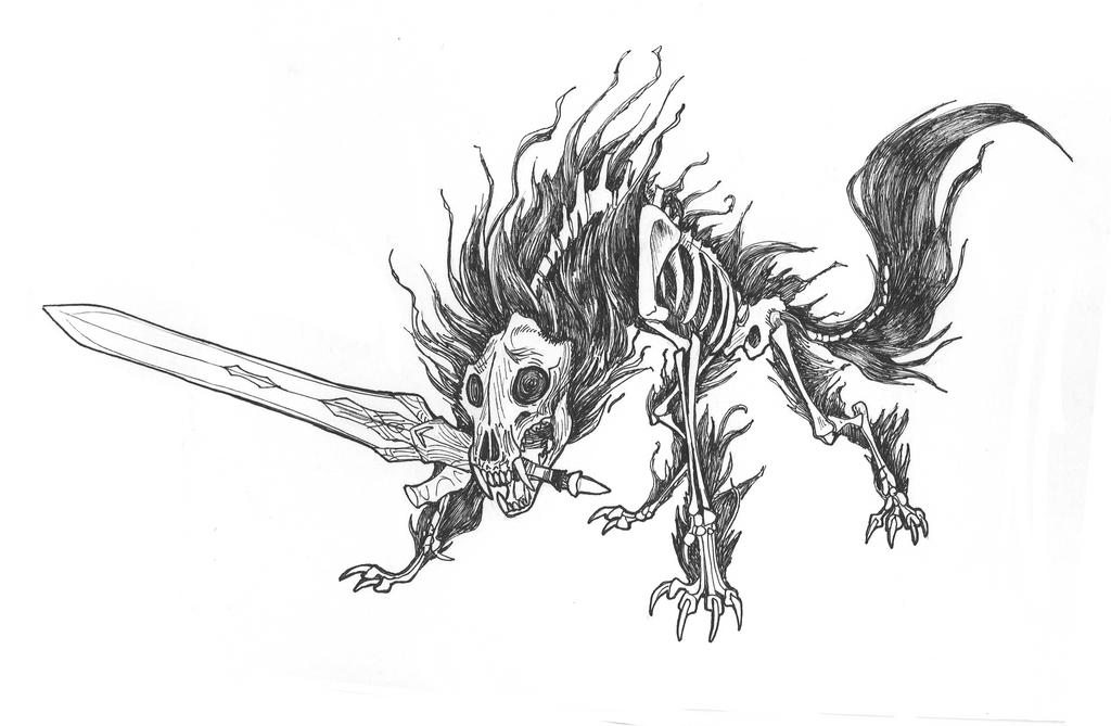 Darkbeast Sif by Kazulgfox