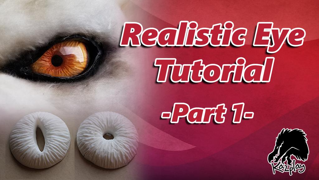 Realistic Eye Tutorial -Link in the Description by Kazulgfox