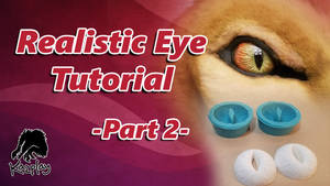Eye tutorial Part 2 How to make a mold and cast