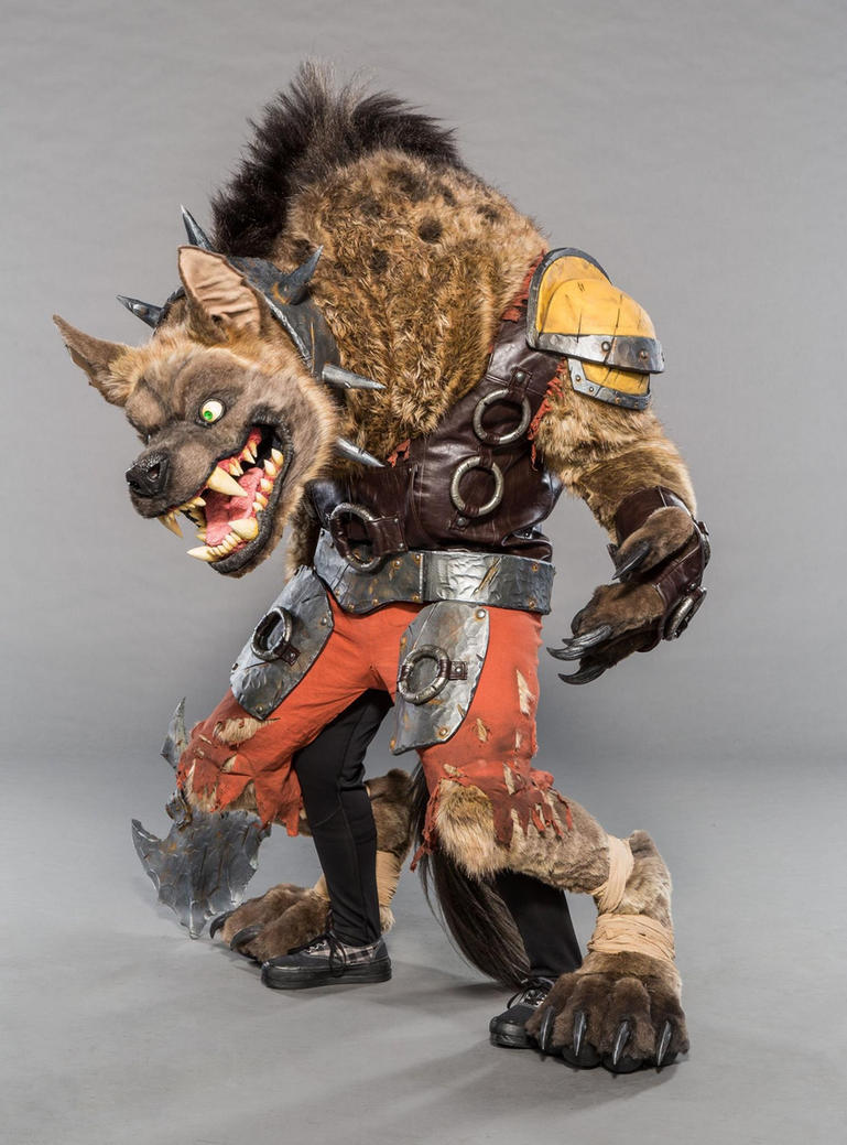 Hogger Blizzcon 2017 Official Photo by Kazulgfox
