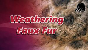 Weathering Faux Fur tutorial -Link in Description