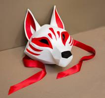 Kitsune Mask by Kazulgfox