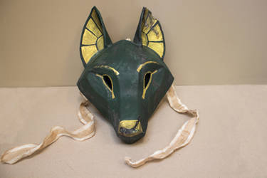 Anubis themed Kitsune mask