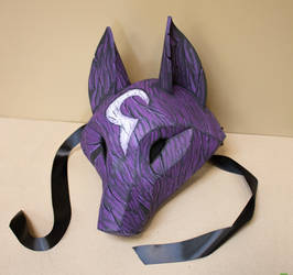 Kindred Themed Kitsune Mask