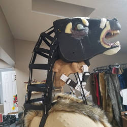 Neck padding -Goatman cosplay