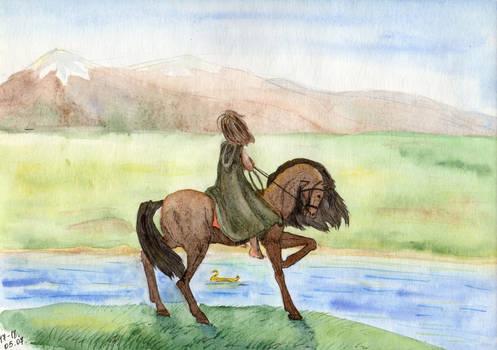 Faramir sees Boromir