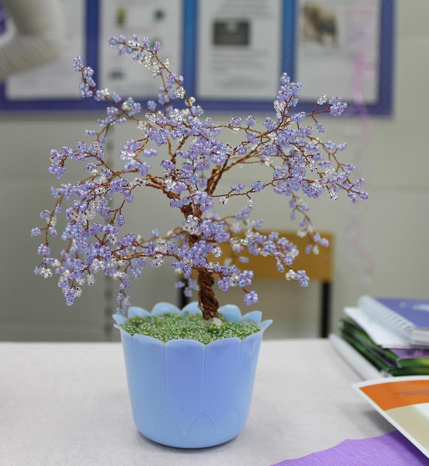 The purple sakura by Spirit-of-Laharah