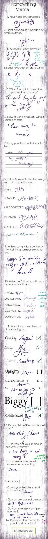 Handwriting Meme! by rayvin734
