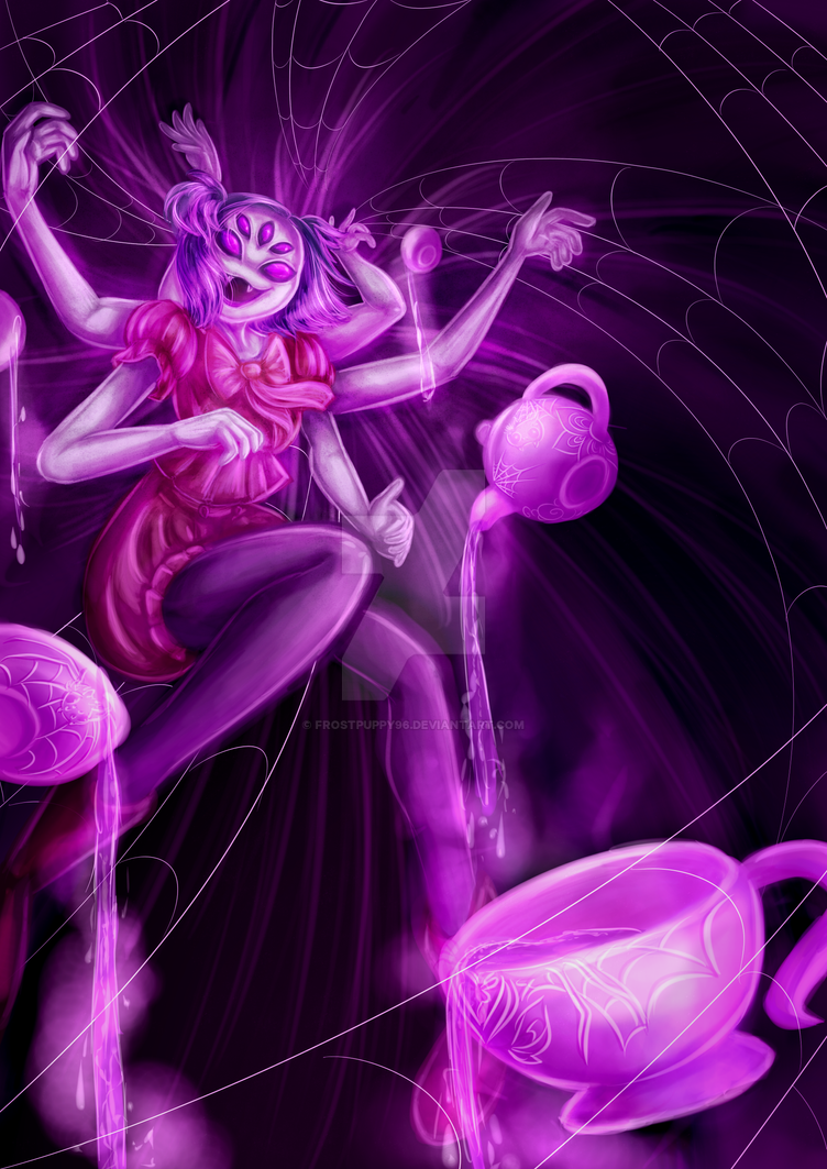 Little Miss Muffet by FrostPuppy96