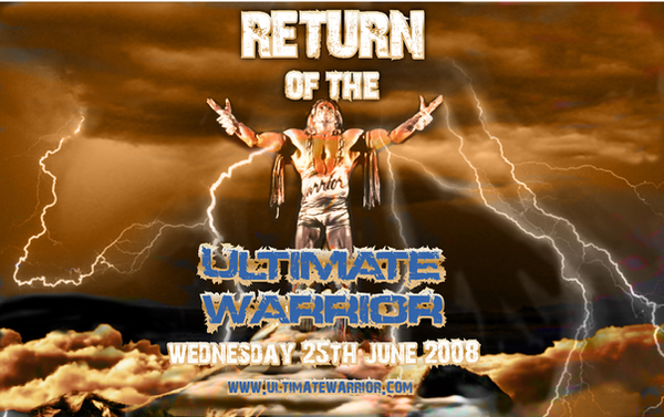 Ultimate Warrior 2012 Return ULTIMATE WARRIOR EPIC ...