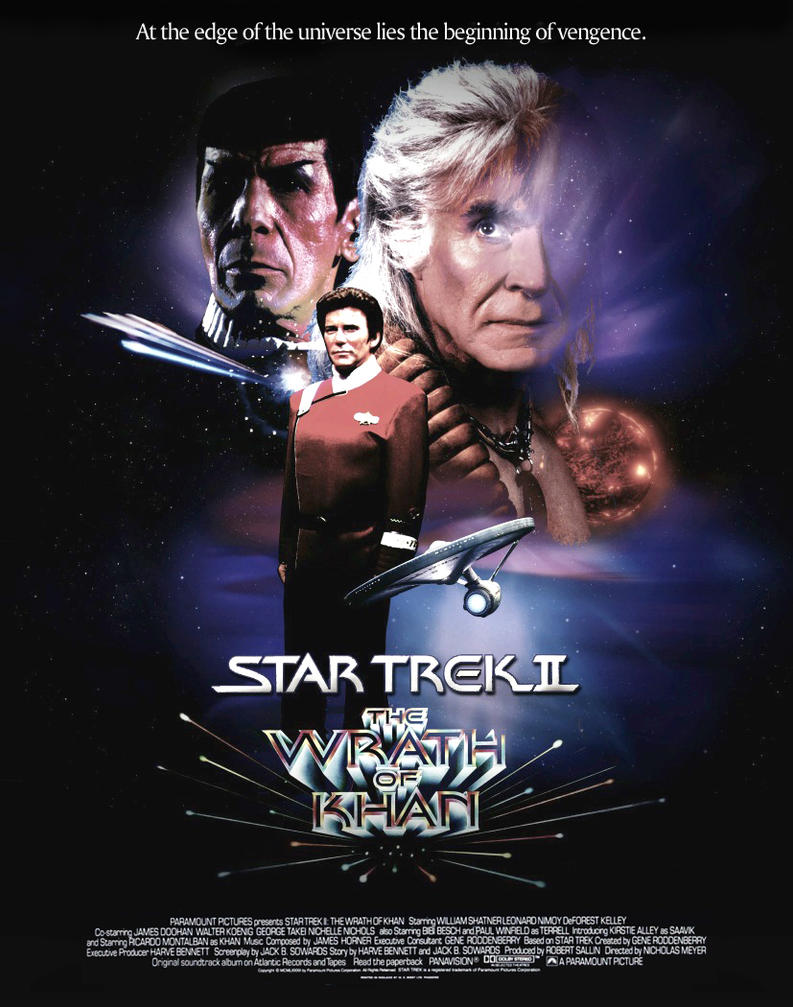 Image result for the wrath of khan poster