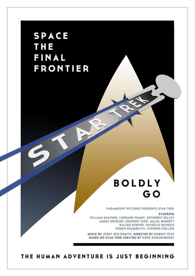 Star Trek Broadway Poster by tanman1