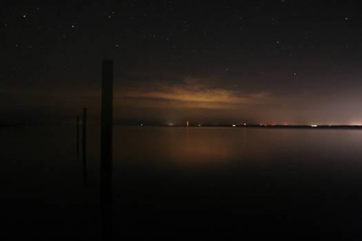 Midnight on a Dock 2