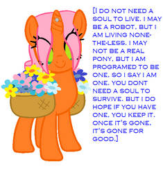 stacey has a message for you. by the-princess-ponies
