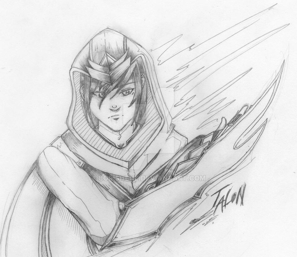 Talon the Blade's Shadow by Borishehe