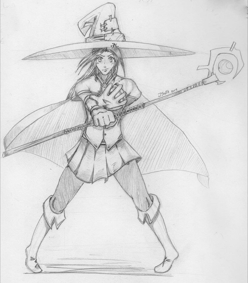 Wizard- Re-draw by Borishehe