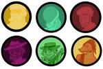 Fallen Andros: Online Party tokens