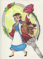 Beauty and the Beast by teneelilangel