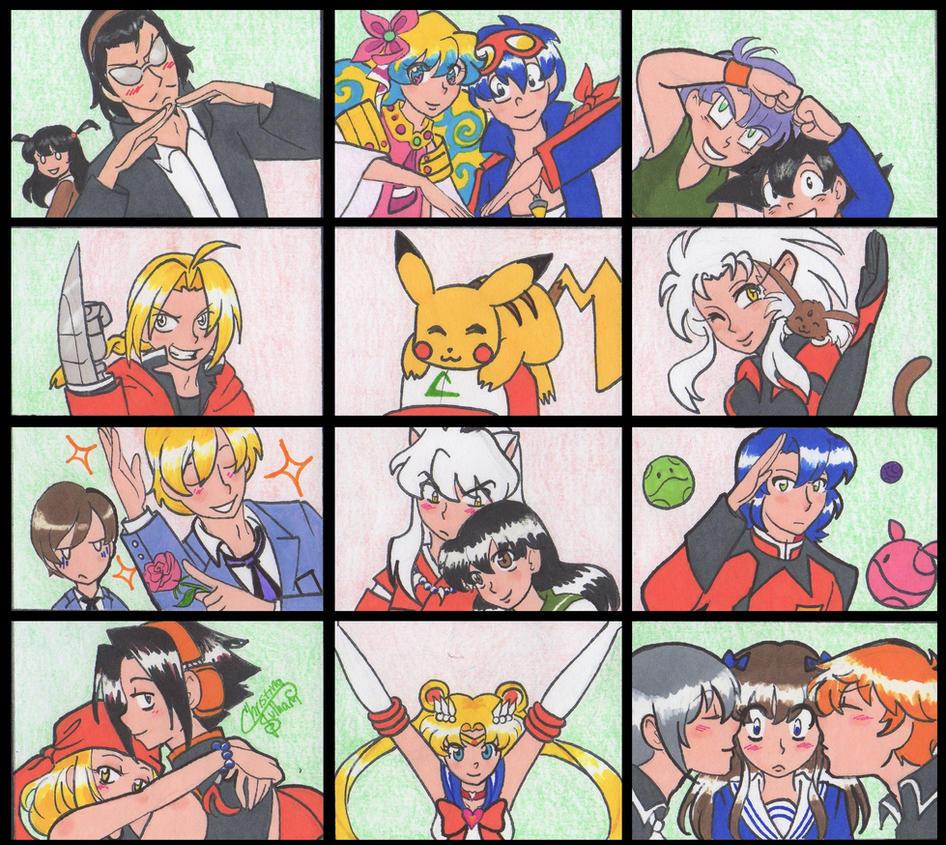 I heart anime by teneelilangel
