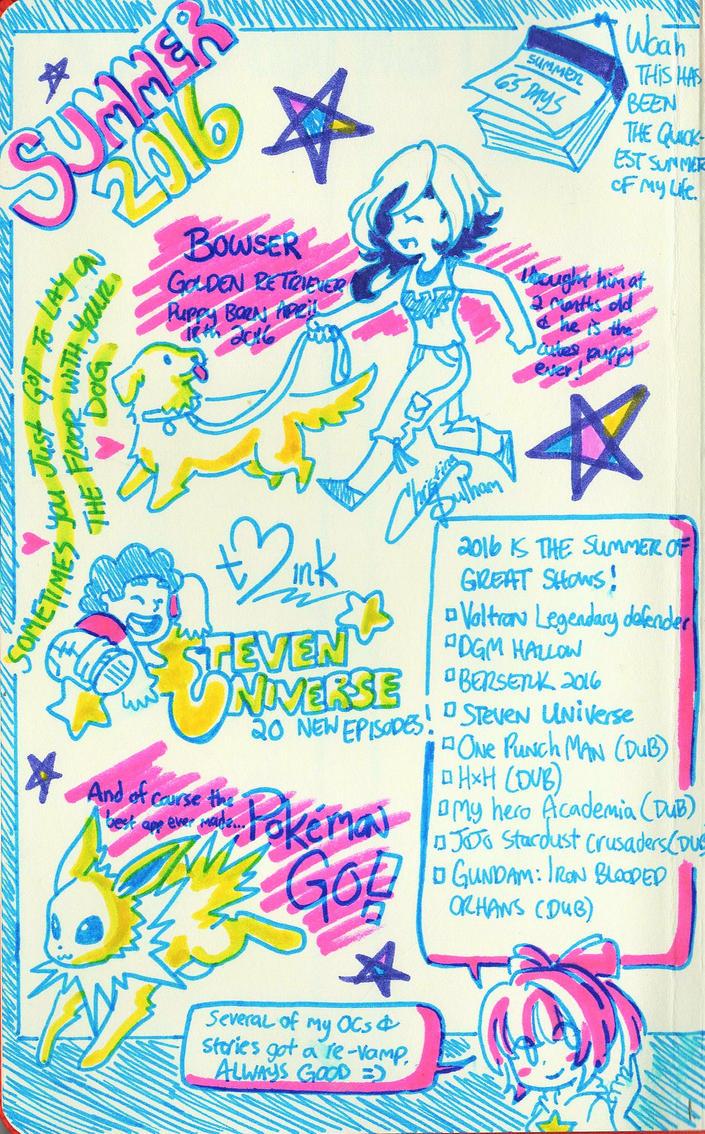 Summer Notes by teneelilangel