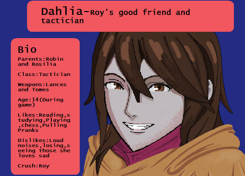 Fire emblem oc-Dahlia