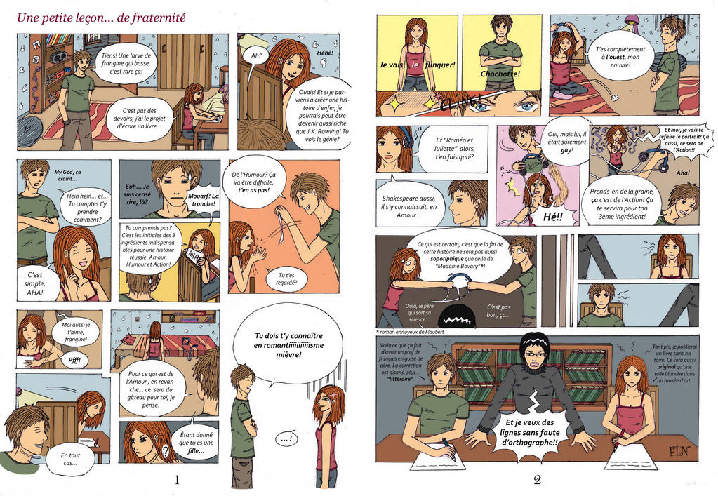 Bd Manga By Ladycrow3 On Deviantart