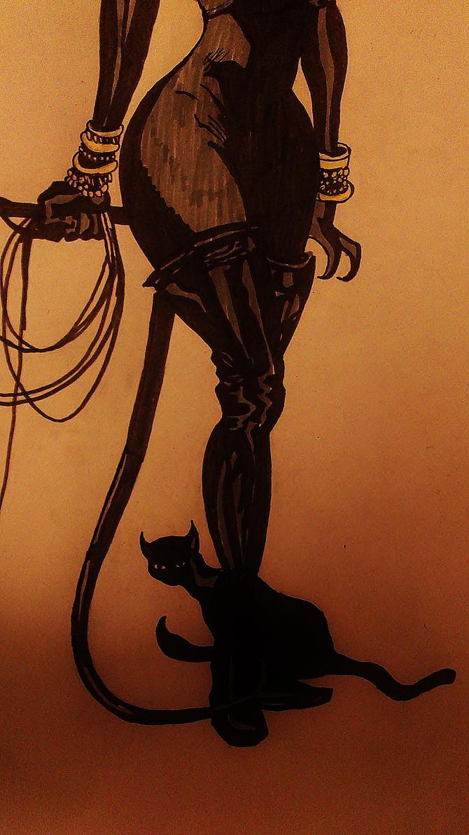 catwoman by chlobaka
