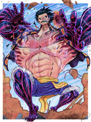 Luffy Gear 4 - One Piece