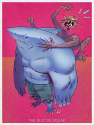 King Shark and Weasel