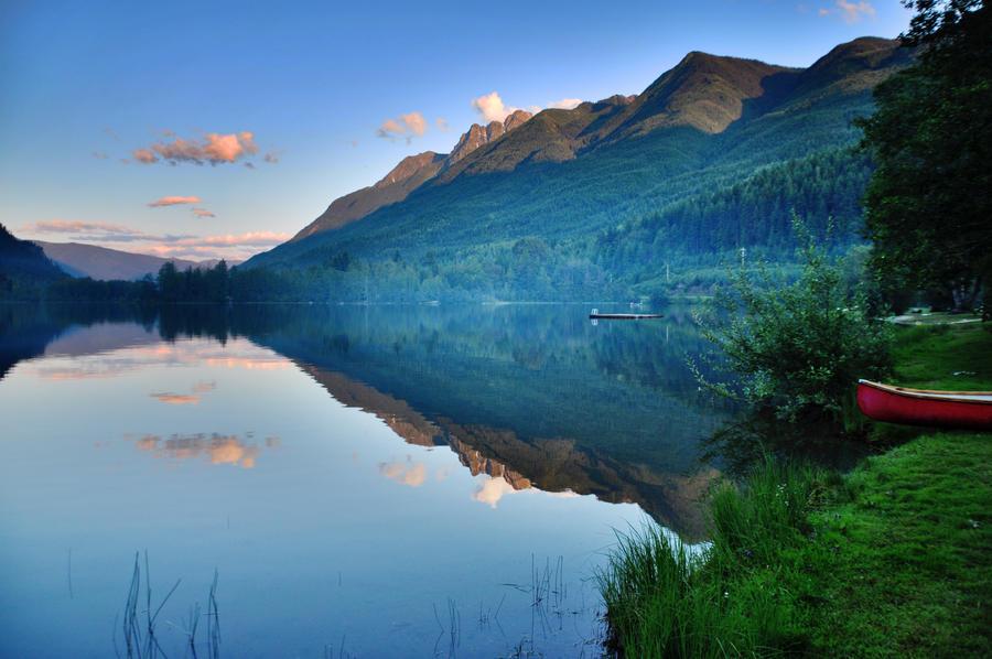 Summit Lake by enyaa