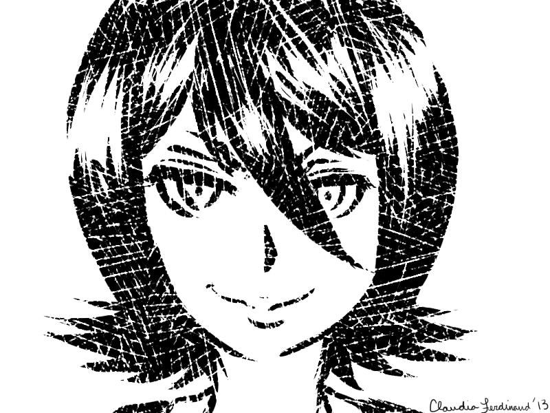 Rukia Portrait by DetUkjente