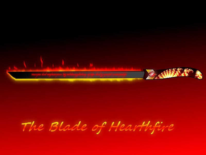 Blade of Hearthfire by Dragonlord-Daegen