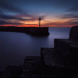 tetris sunset