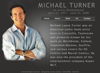 Michael Turner by darth-cena