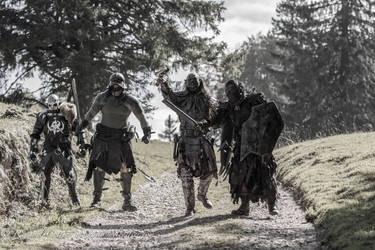 Uruki death squad by silvercrow