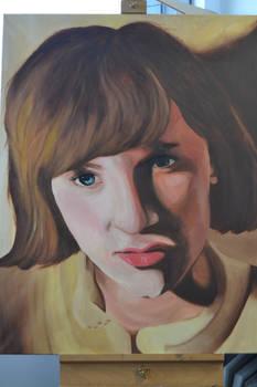 Acrylic Portrait Painting