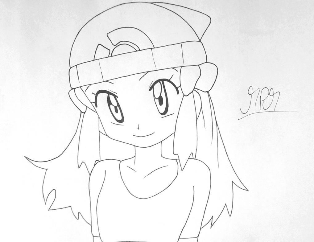 pokemon dawn lucia by thehandle18 on deviantart
