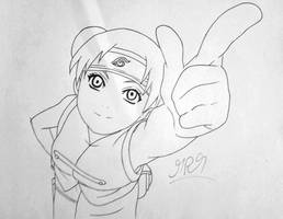 Tenten: that happens when you erase to hard! by thehandle18